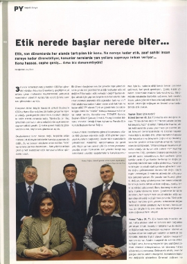 Yuvarlak Masa, Kemal Tuğcu, PY Dergisi Tarih 2005