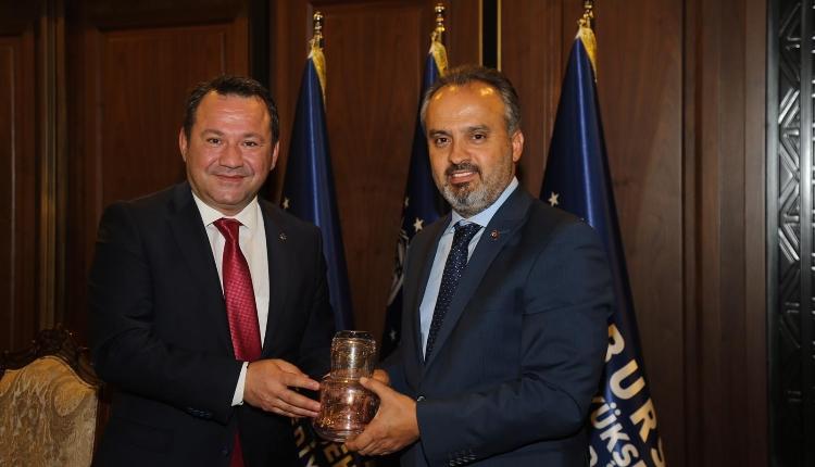 Bursa Büyükşehir Belediye Başkanı Ziyareti