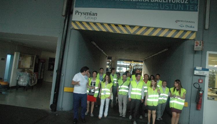 Prysmian Group İşyeri Gezisi & Yaza Merhaba Kokteyli